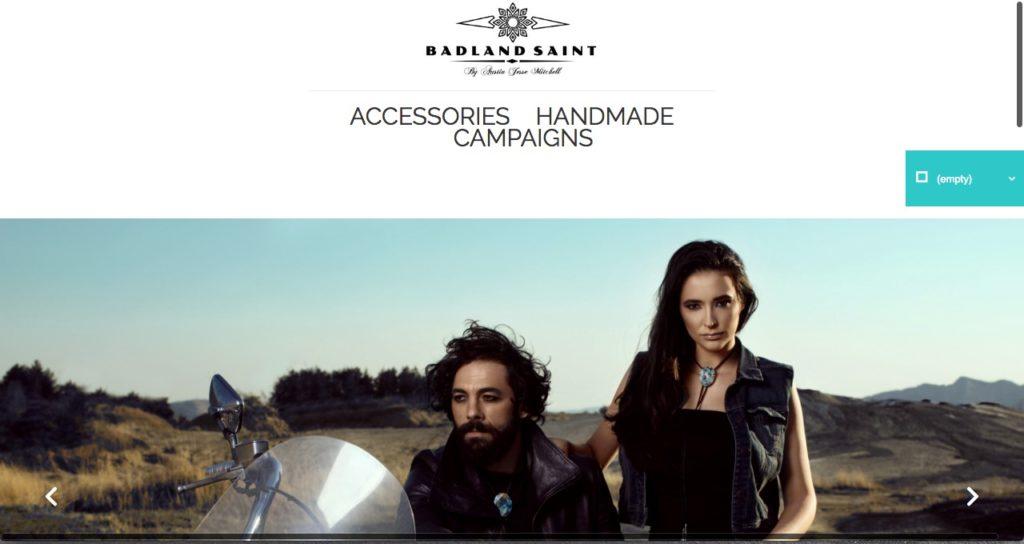 Website-Screenshot- BadlandSaint