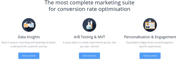 abtasty conversion rate optimization software