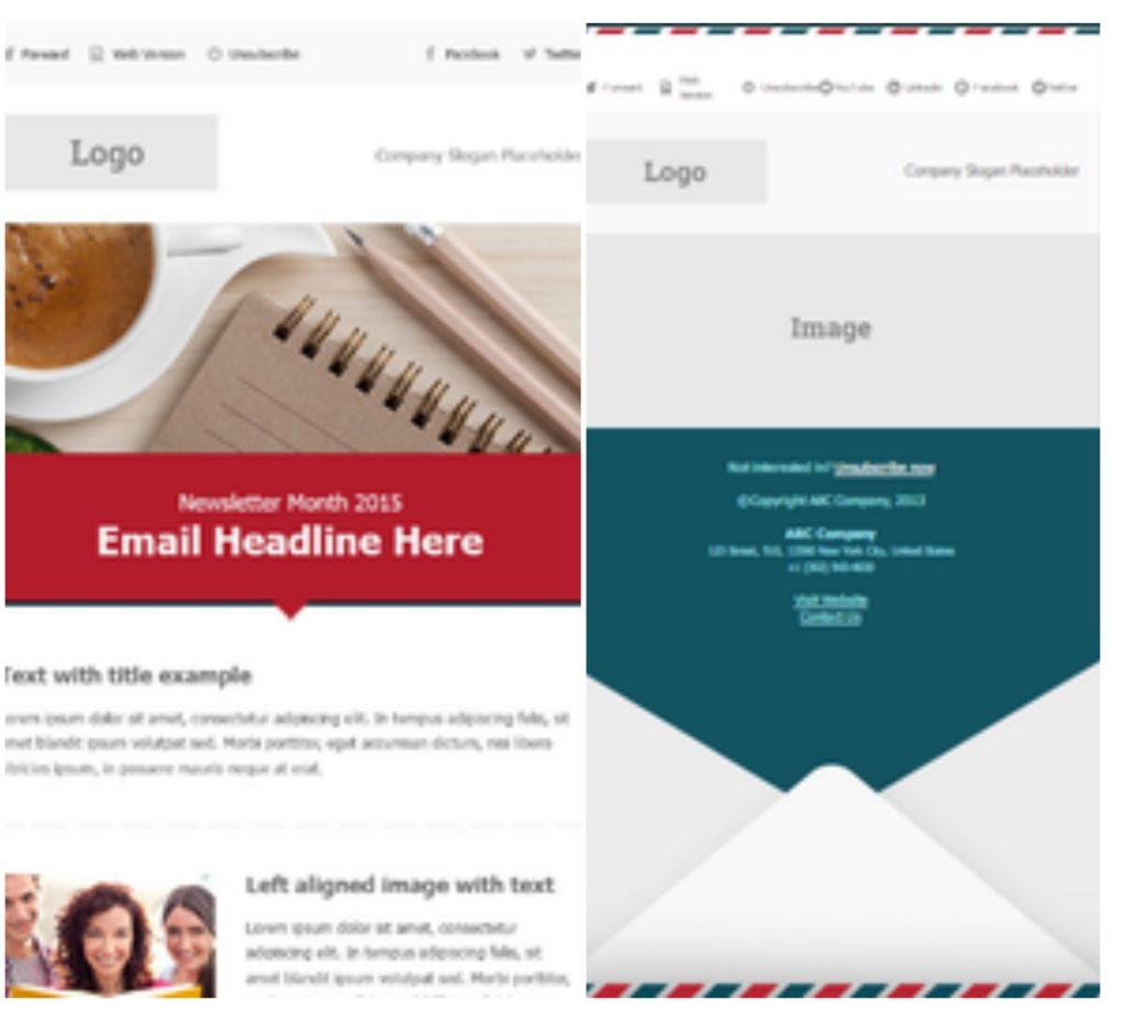 sendloop email marketing template example
