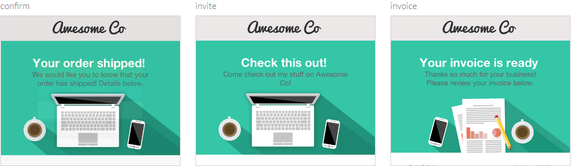 sendwithus email templates