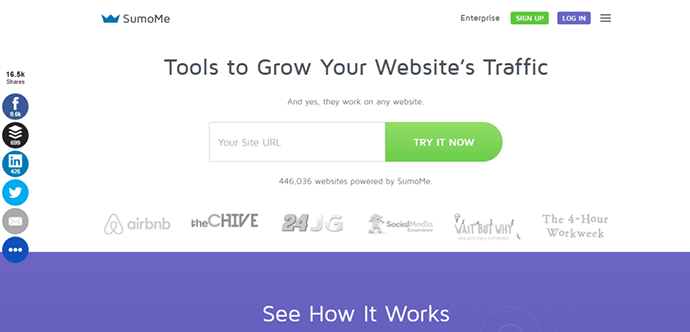 sumome landing page template