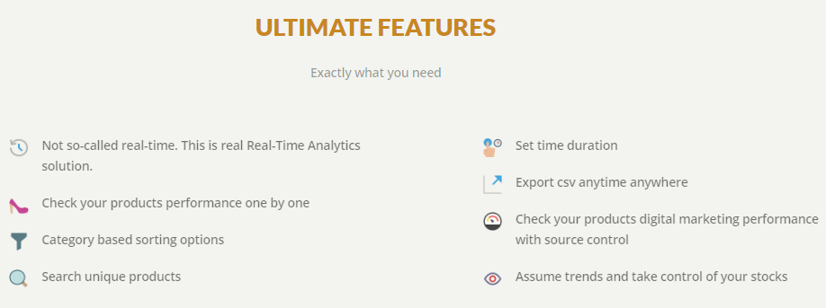 trendify analtytics and CRO tool