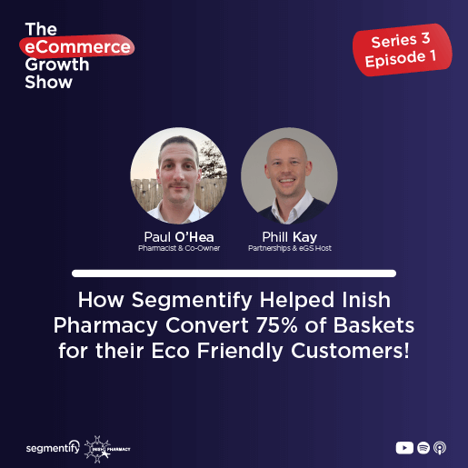How Segmentify Helped Inish Pharmacy Convert 75% of Baskets for their Eco Friendly Customers!