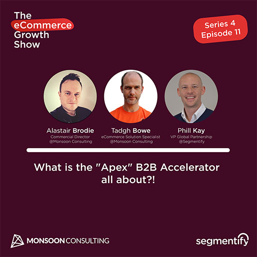 """What is the """"Apex"""" B2B Accelerator all about?!! – Alastair Brodie – Tadgh Bowe"""