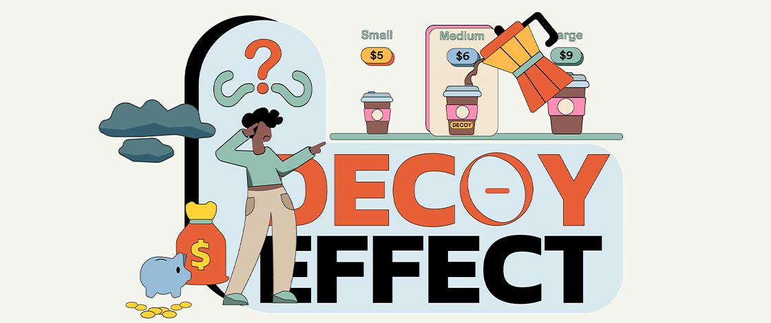 The 3 Option Decoy Effect and Relativity